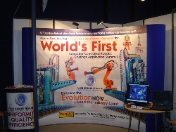First System ID Plate Exhibit Booth Seas2005, Nice France